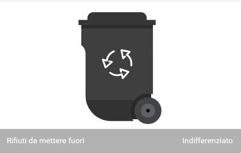 Home Assistant – Sensore raccolta rifiuti